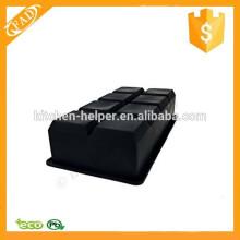 Soft e flexível Eco-Friendly 8-cavidade bandeja de cubo de gelo de silicone