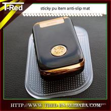 Mobile phone holder PU gel nano pad/sticky pad/anti-slip mat manufacturers