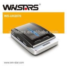 480Mbps usb 2.0 Nabe, 7 Hafen kühle usb-Naben mit Energienadapter, USB 2.0 Kabel