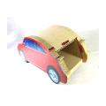 Gato caliente de la forma del coche de la venta que rasguña el juguete y el nuevo diseño la casa adorable cat CT4046