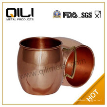 MOSCOW MULE PURE SOLID COPPER CUP BAR BEER MUG
