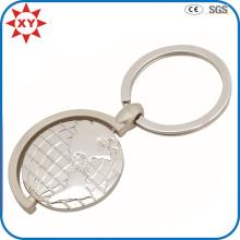 Werbe Satin Nickelbeschichtung Metall Spinning Tellurion Keychain