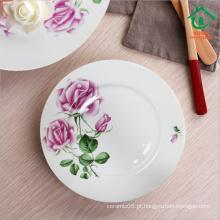 Antique design chinese barata cerâmica jantar placas placas de porcelana
