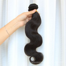 Alibaba China supplier 100% Brazilian hair double drawn natural color hair extensions