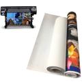 Polyester PVC Free Self Adhesive Wall Canvas