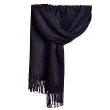 2017 invierno largo liso pashmina turquesa chal de la cachemira borla bufanda poncho de cachemira