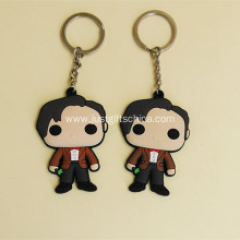 Promotional Cartoon Shape PVC Keyring