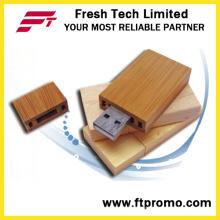 Эко древесины/бамбука USB флэш-диск с логотипом (D801)