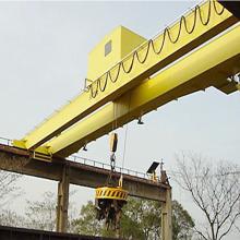 Scrap Lift Electromagnet Double Girder Overhead Crane