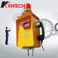 Anti-Riot Telephone for Security System Minning Industrial Communication Knzd-46