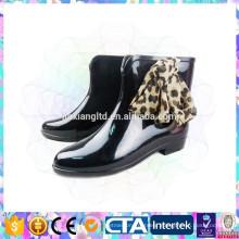 ladies modern shiny rain shoes
