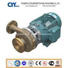 Pompe centrifuge à l'eau à l'huile d'hydrogène liquide à base d'oxygène liquide cryogénique