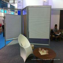 2014 Chine mini stores plissés sans fil chaud en bonne qualité, stores en plastique de tissu en polyester