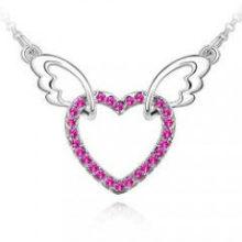 2014 billige Förderung Schmuck Halskette mit Liebe Herzform