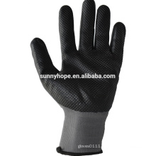 Sunnyhope nitrile foam coated gloves malaysia,Dimpled grain gloves