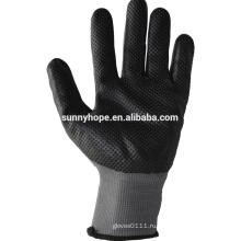 Перчатки малайзии из нитриловой пены с нитриловой нитью,