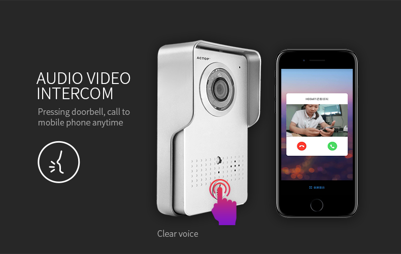 HD video doorbell