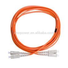 Super Marzo Compra SC Cable de conexión, multimodo 50 125 cable óptico de fibra, SC Puente de fibra óptica multimodo APC para la red FTTH
