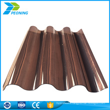 Wholesale cheap best wavy used corrugated roofing plastic sheet sale