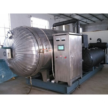 Large capacty freeze dried okra lyophilizer/freeze dried okra machine