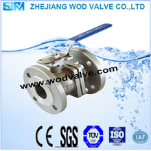 DIN Stainless Steel Flange Ball Valve