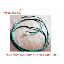 stripping copper wire for money