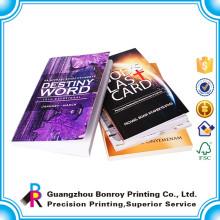 máquina de encuadernación de libros servicio de impresión barata en rústica fábrica