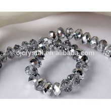 crystal beads in bluk,chinese wholesale rondelle crystal beads