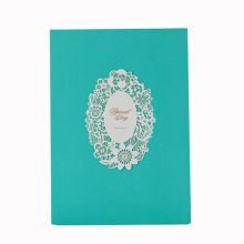 Farbenreiche kundenspezifische Papierhochzeits-Einladungs-Karten