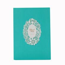 Tarjetas de invitación de boda de papel a todo color a todo color