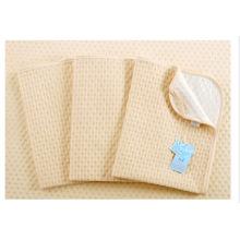 Alfombrilla de almohada cambiante a prueba de agua de algodón orgánico Resusable