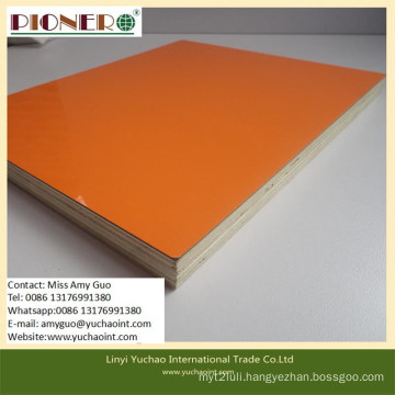 4*8feet Laminated Melamine Plywood for Kitchen and Cabinets