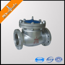 Swing start check valve WCB check valve DN300 PN6