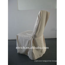 banquet chair cover with pleat at the front and leg,CTV535 polyester material,durable and easy washable