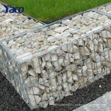 Yachao ячеистой сети гальванизированная сваренная коробка gabion gabion каменная клетка