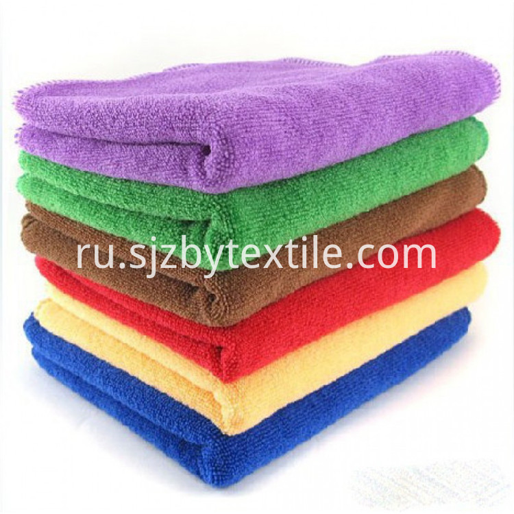Car Care Microfiber Cleaning Towel