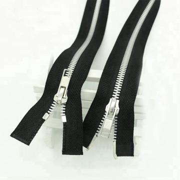 Metal Stainless Steel Corn Teeth Jacket Zipper