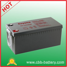 200ah 12V Rechargeable SMF Gel Battery for Railways