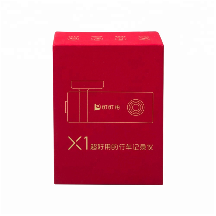 Custom Paper Box For Electronics Tachograph Packing
