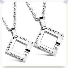 Fashion Jewelry Stainless Steel Jewelry Fashion Pendant Necklace (NK730)