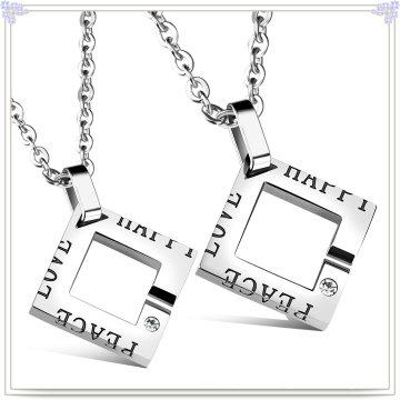 Moda jóias de aço inoxidável jóias colar de pingente de moda (nk730)