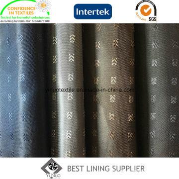 100% Polyester Classic Herringbone Pattern Men′s Suit Lining Fabric