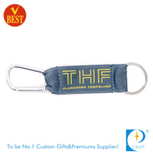 Customized High Quality Nylon Screen Printed Climbing Button Carabiner at Factory Price
