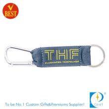 Personalizado de alta qualidade Nylon tela impressa Escalada botão Carabiner no preço de fábrica