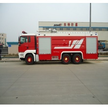 SCANIA Air Foam atau serbuk kering Fire Fighting Truck