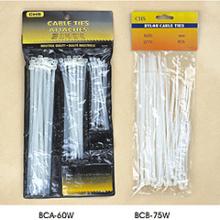 Bca \Bcb Series (PVCbag+headcard) Cable Ties