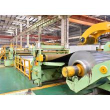 Machine de ligne de refendage de feuille de bobine d'aluminium