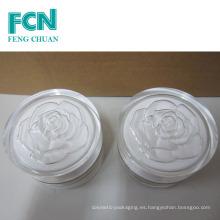 Rose cosméticos de embalaje cuerpo acrílico crema de ojos jarra 15ml 30ml 50ml 100ml