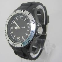 Nuevo reloj de manera plástica del movimiento de Japón de la protección del medio ambiente Sj073-12