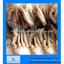 frozen wholesale half cut blue swimming crab for sale